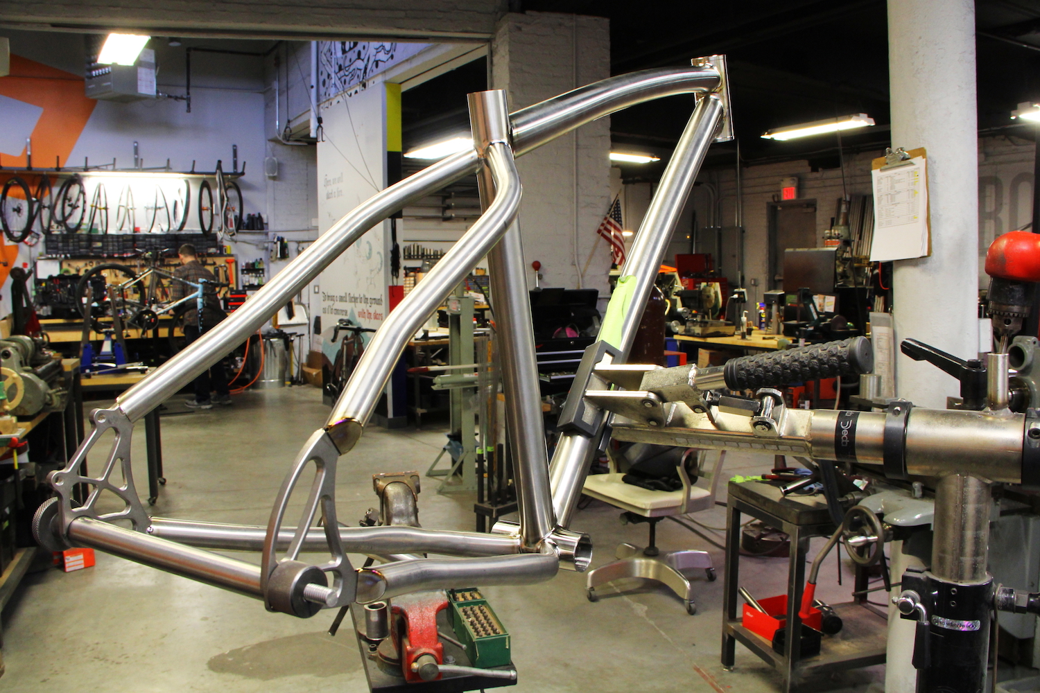 Almost ready for some sweet, anodized graphics.