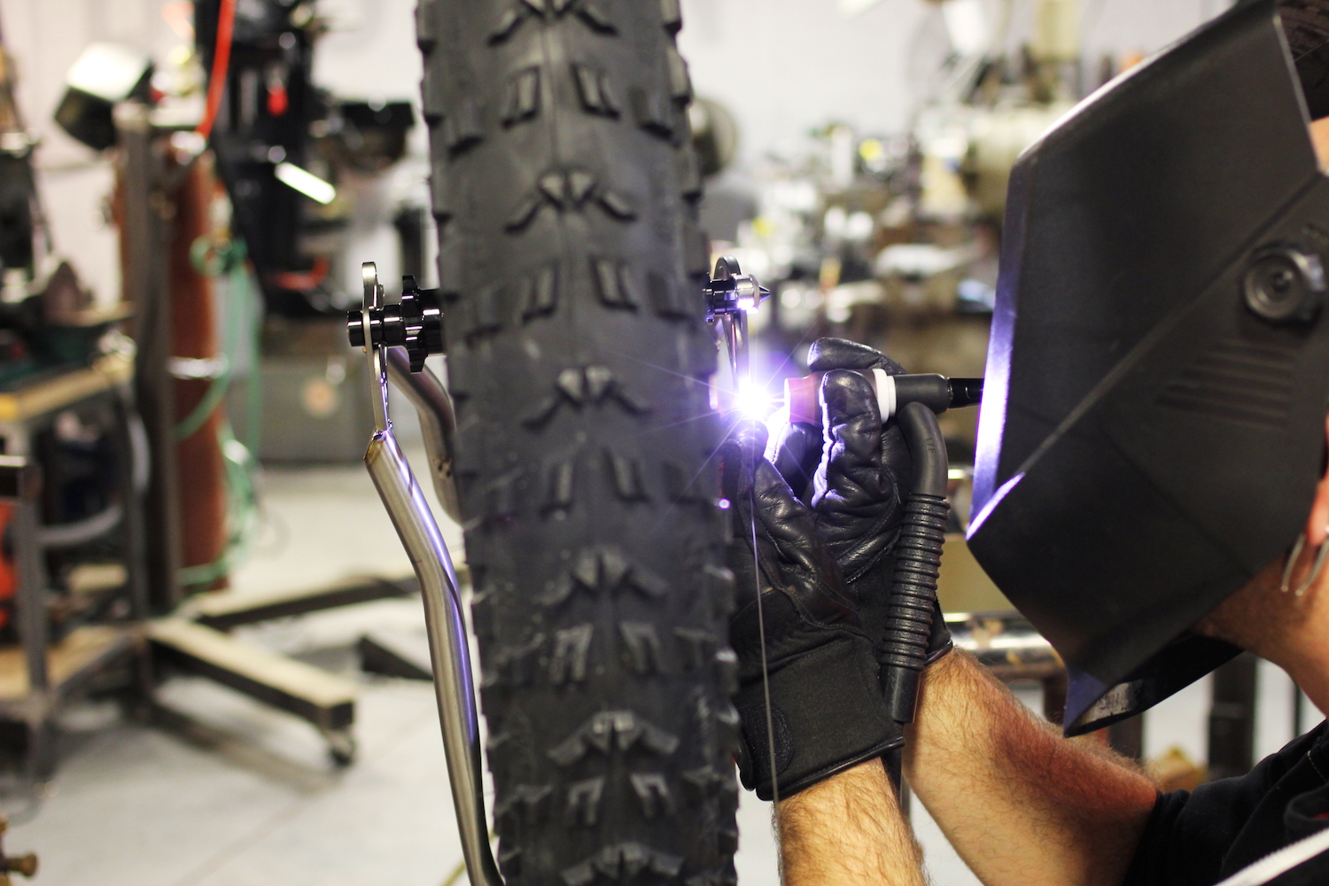 Attention to detail is the pride and joy of the team at Firefly Bicycles.