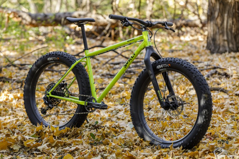 Dan's Surly Wednesday fat bike