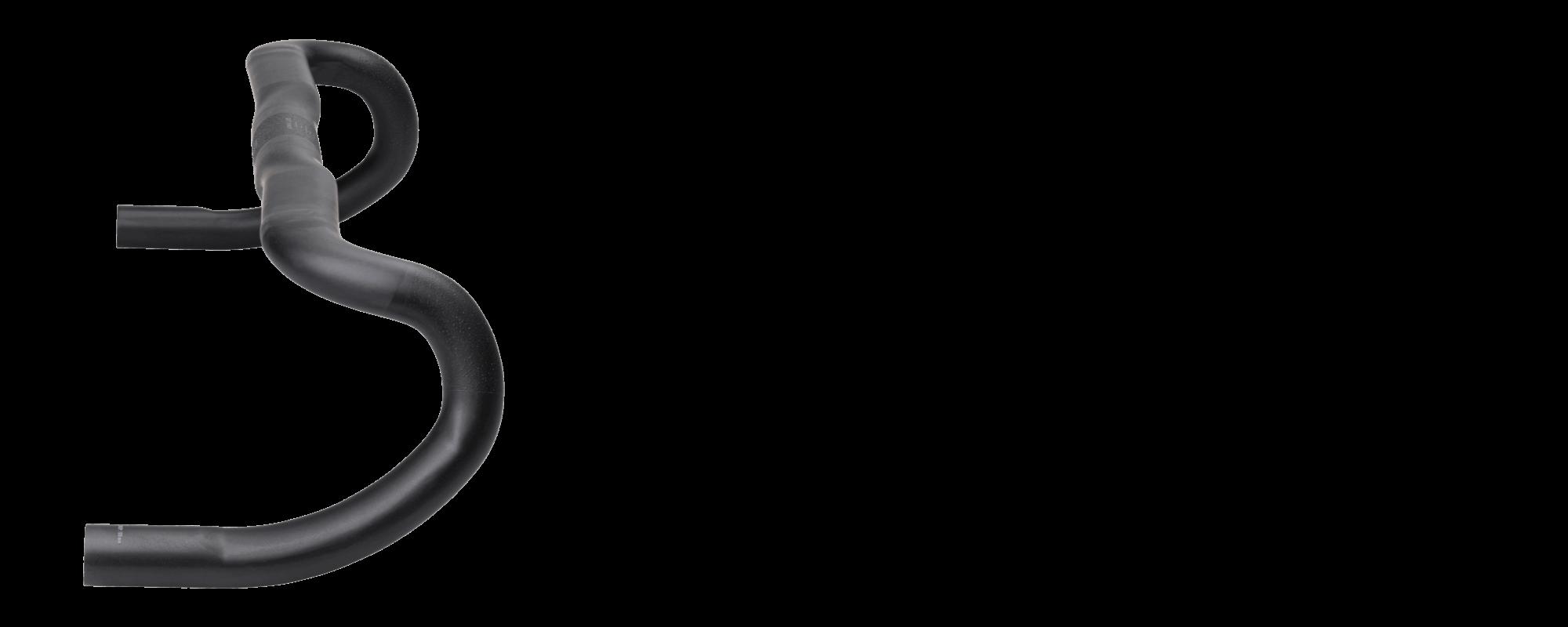 Whisky Spano Drop Handlebar - Carbon - Profile