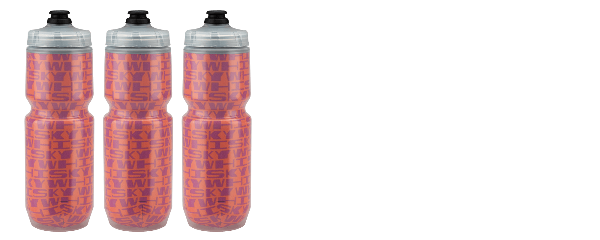 Stretched Pattern Water Bottle