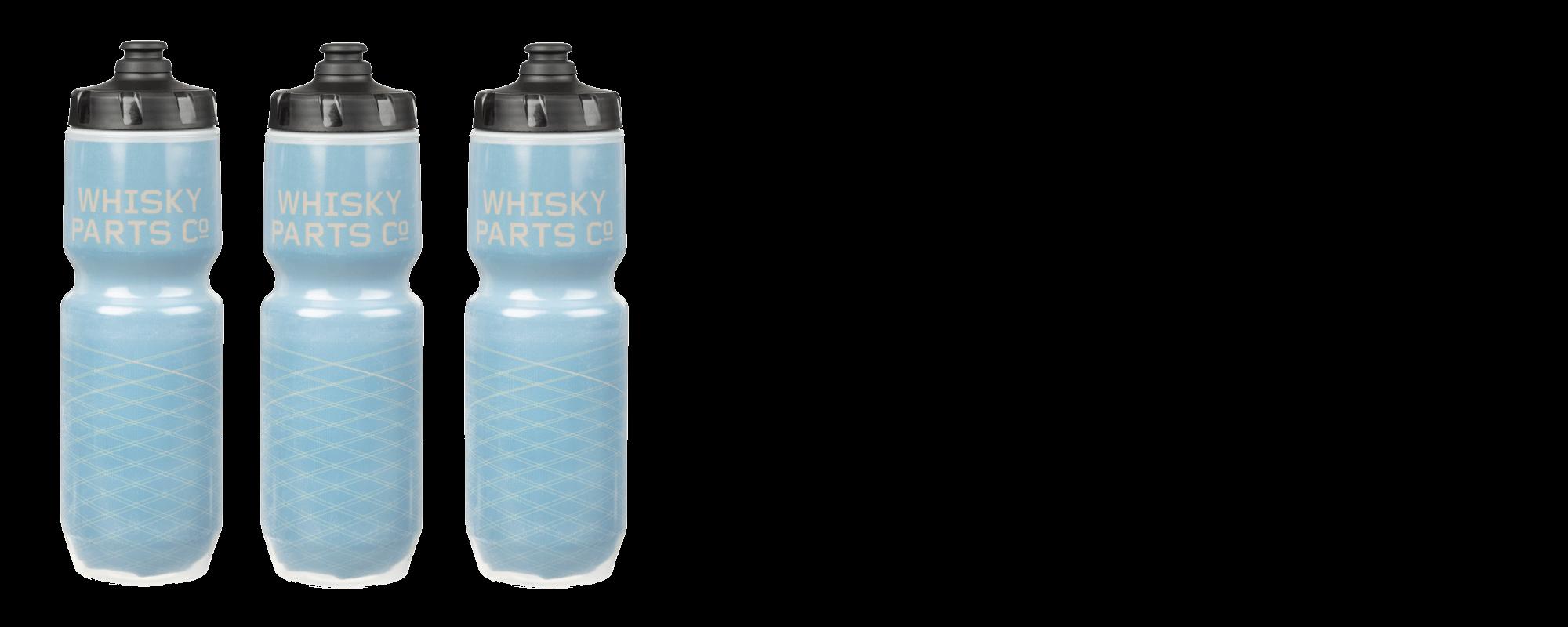 Whisky Prospector Water Bottle - Blue/Gold