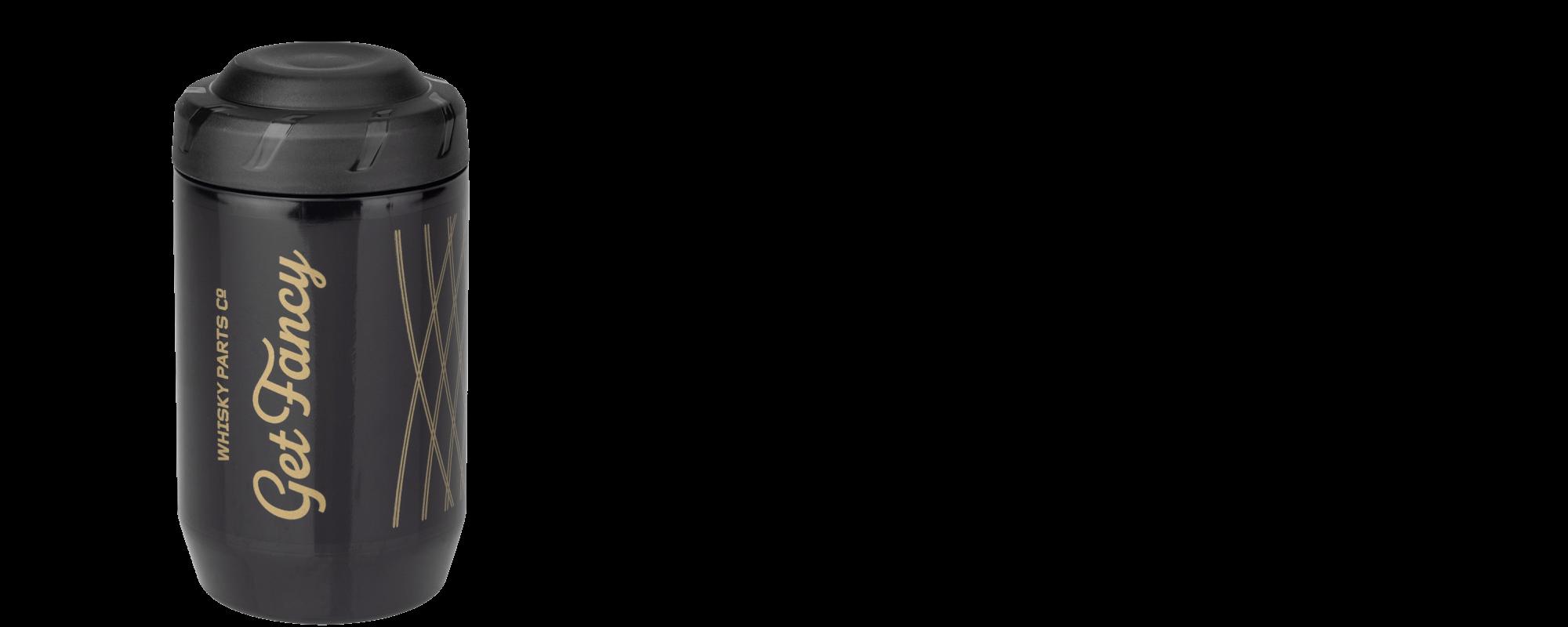 Whisky Prospector Keg - Black/Gold - front
