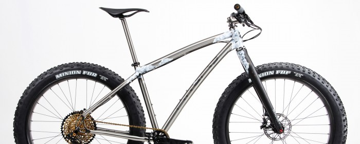 Check out our latest Select Bike! A hand-painted fat bike from Firefly Cycles.