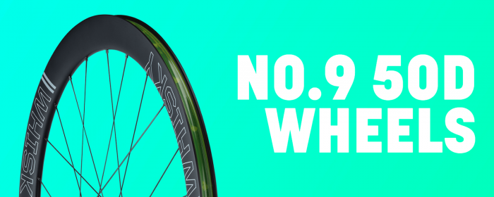 Our No.9 50D carbon road wheel.