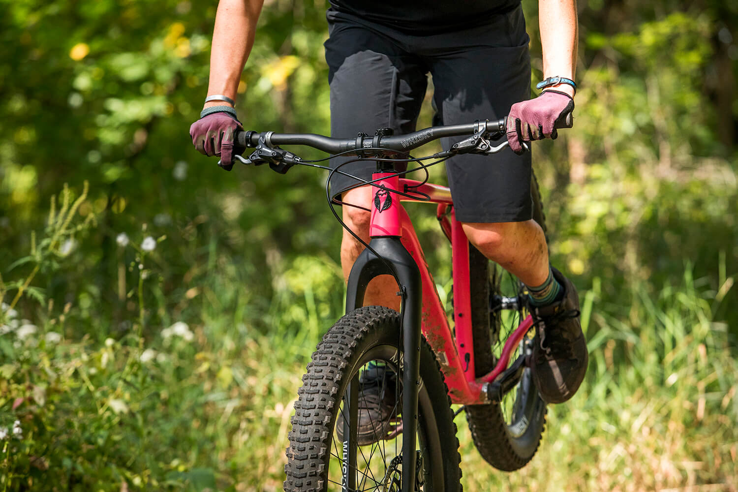 760mm 35.0 WHISKY No.9 Mountain Carbon Handlebar 40mm Rise