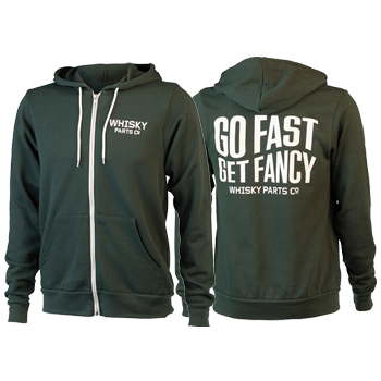 Go Fast, Get Fancy Hoodie