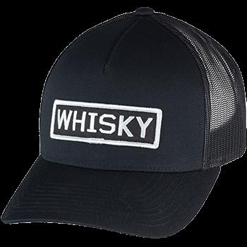 Whisky Logo Trucker Hat