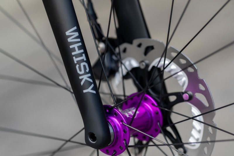Hub details on the Engin Ultimate Bicycle.