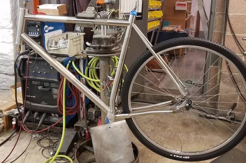 Starting to look like a bike.