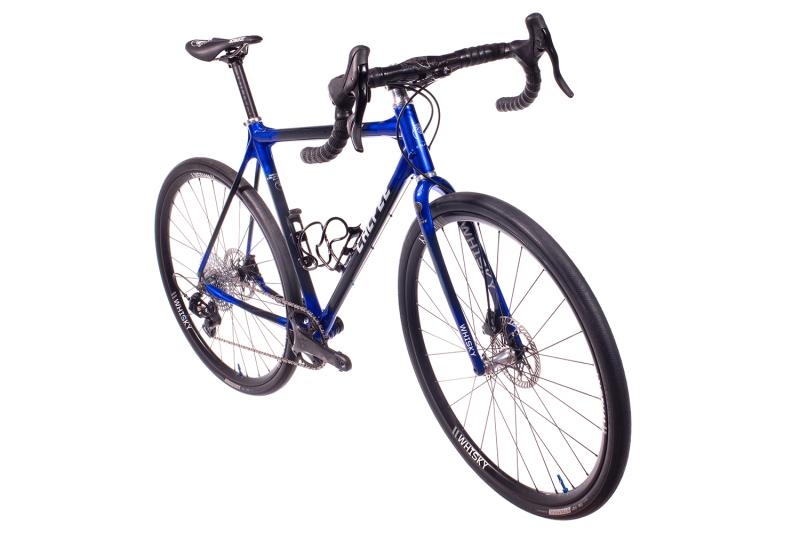 Whisky Select - Calfee Tetra Adventure Classic Bike - Front three-quarter view