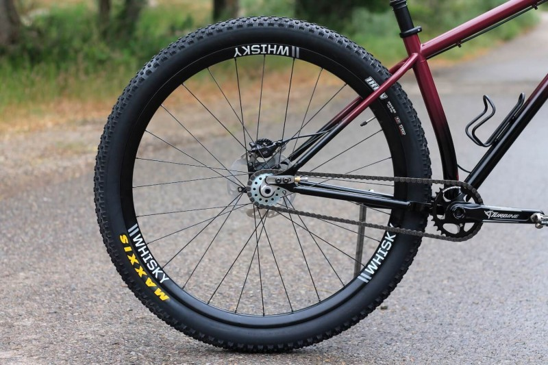 myth talos rear wheel single speed cog whisky rim